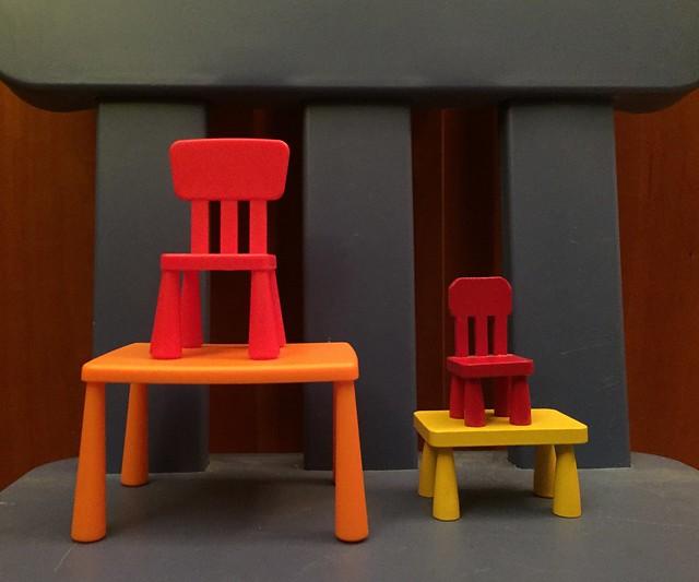 Ikea Mammut chairs