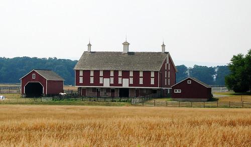 field lady pennsylvania farm daniel battle gettysburg