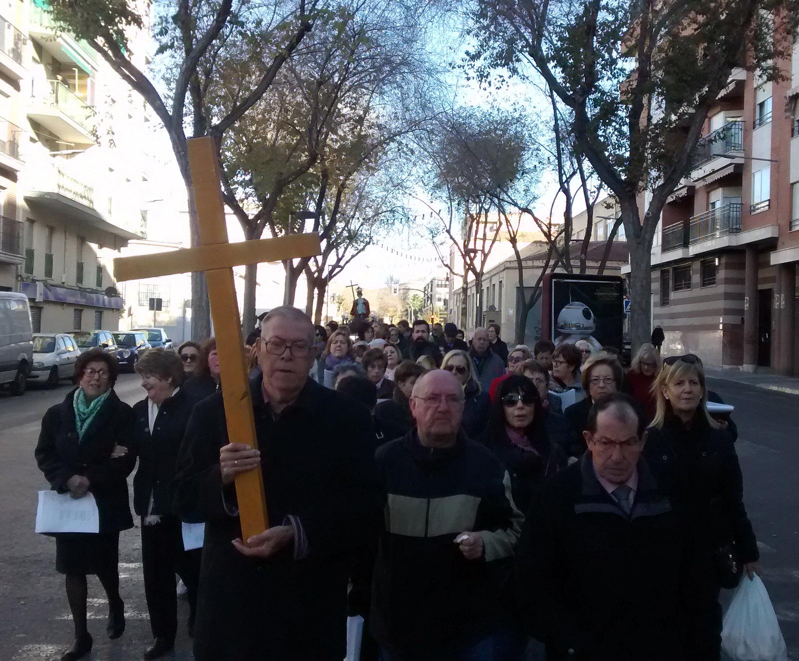 (2015-12-19) - Peregrinación 5 lugares de Culto de Petrer - José Vicente Romero Ripoll (22)