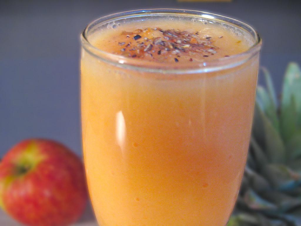 Papaya Pineapple Smoothie Recipe By Sameer Goyal | Watch Pap… | Flickr