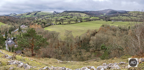 trees panorama nature weather landscape rocks seasons publicspaces northwales loggerheadscountrypark