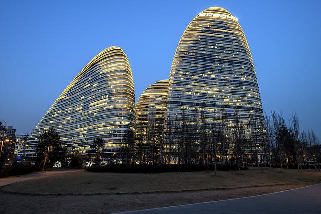 Wangjing Soho, Beijing, China