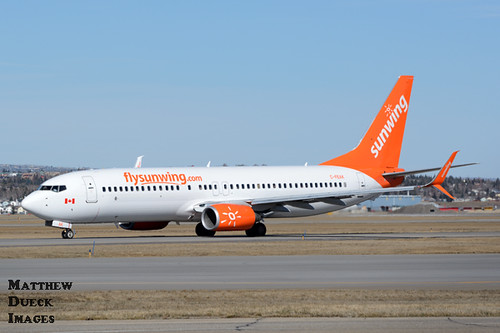 Sunwing Airlines B738 C-FEAK | by Dueck Images