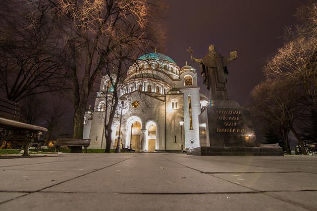 Saint Savva,Belgrade