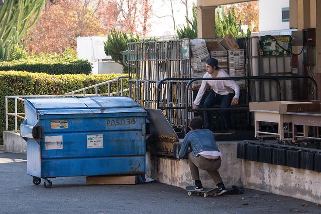 Dumpster Boarding #2