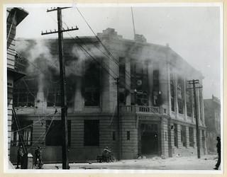 1931 Hawkes Bay Earthquake - Napier Post Office