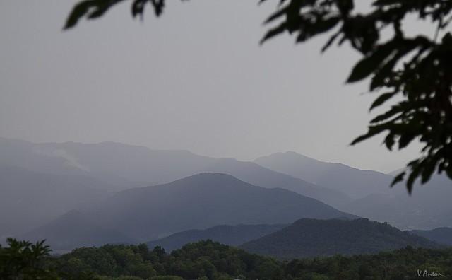 Desde el volcán de Santa Margarida.
