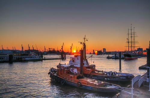 sunset port germany deutschland sonnenuntergang pentax hamburg matthias hafen k7 körner sigma1020 mattkoerner1 mk|photography