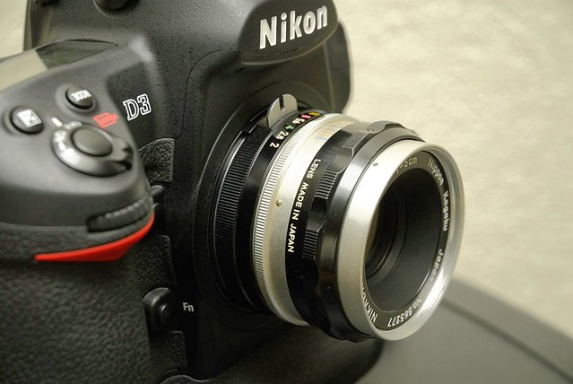 nikon nikkor 5cm 2 S  D3 Taken with D200  3
