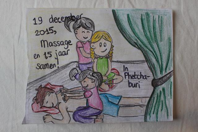 Thaise massages zijn altijd fijn!
