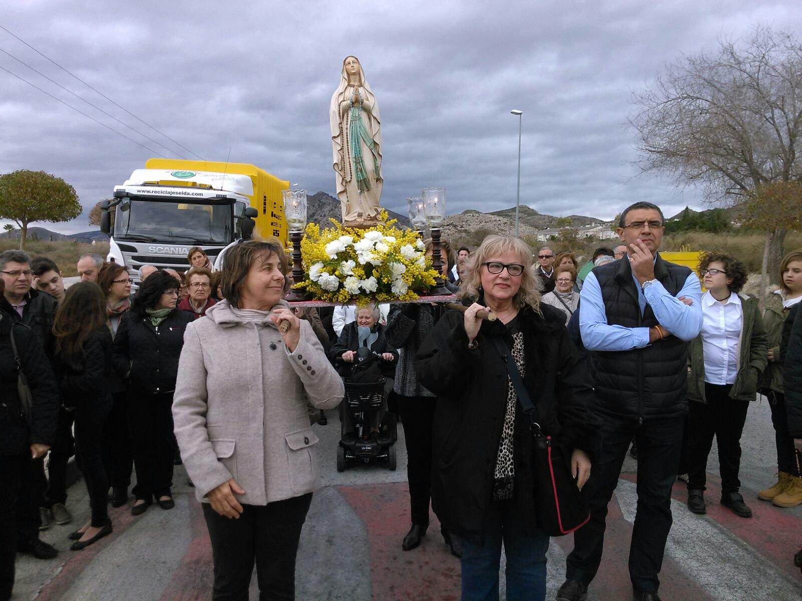(2016-02-13) - Inauguración Virgen de Lourdes, La Molineta - Pascual Serrano (06)