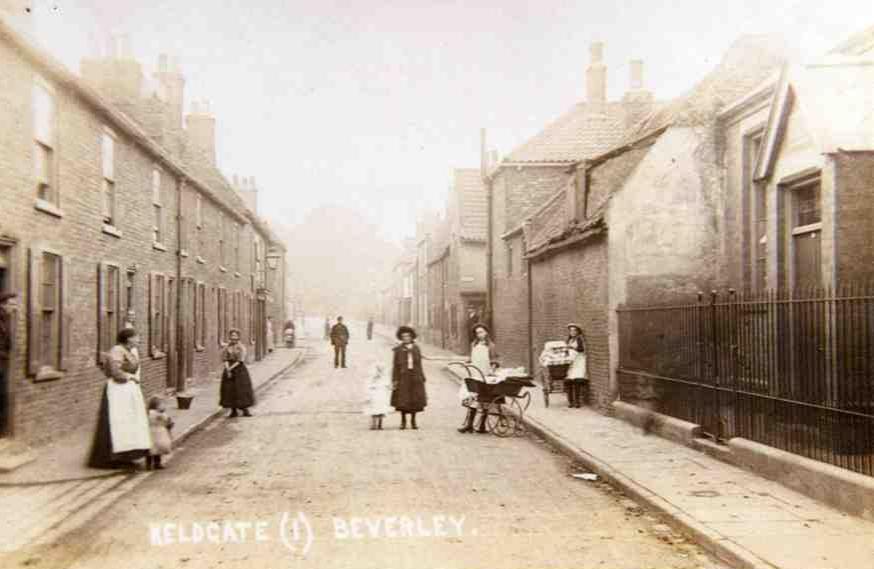 Keldgate, Beverley c.1905 (archive ref DDX1525-1-5 No 65)