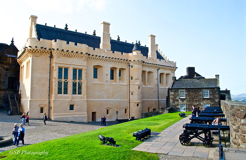 stirlingcastle greathall scotland kingjamesiv renaissance castle cannon history historical parliamenthall nikon d60 medieval fortification