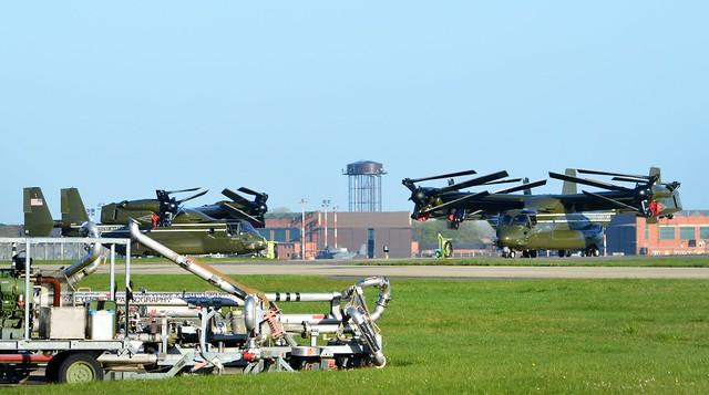 MV22s @ RAF Mildenhall 19-04-16