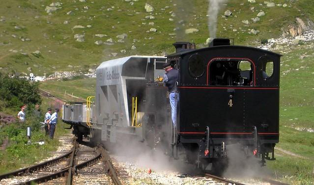 Dampfbahn Furka Bergstrecke 2009 (Schweiz)