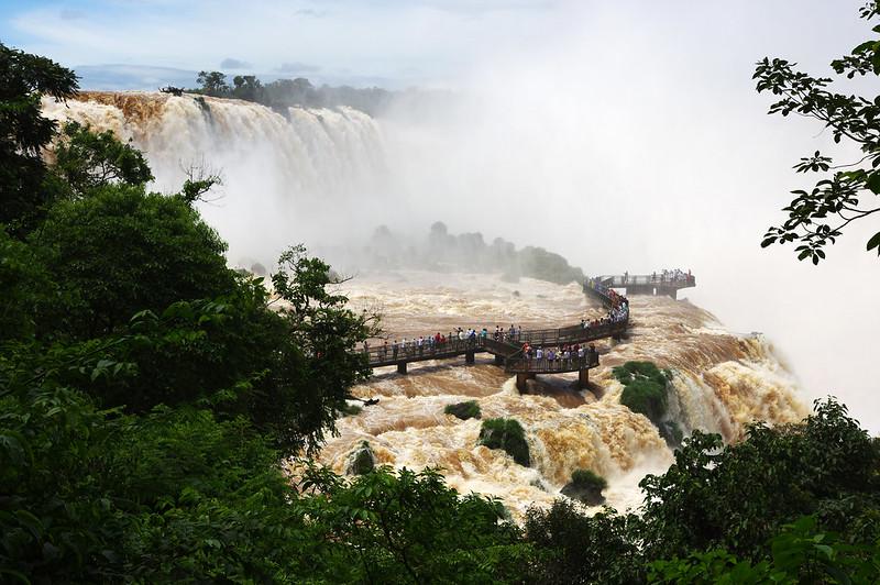 Majestic Iguazu Falls