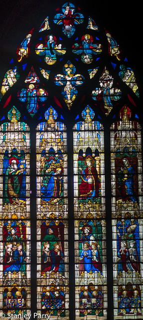 Chartres Cathedral Vendome Chapel Window (15C)