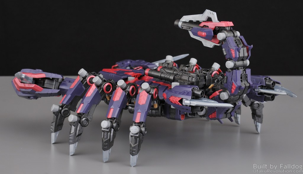 HMM Zoids - Death Stinger Review 25
