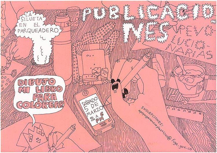 Taller Dibujo Mi Libro Para Colorear Con La Editorial At Las