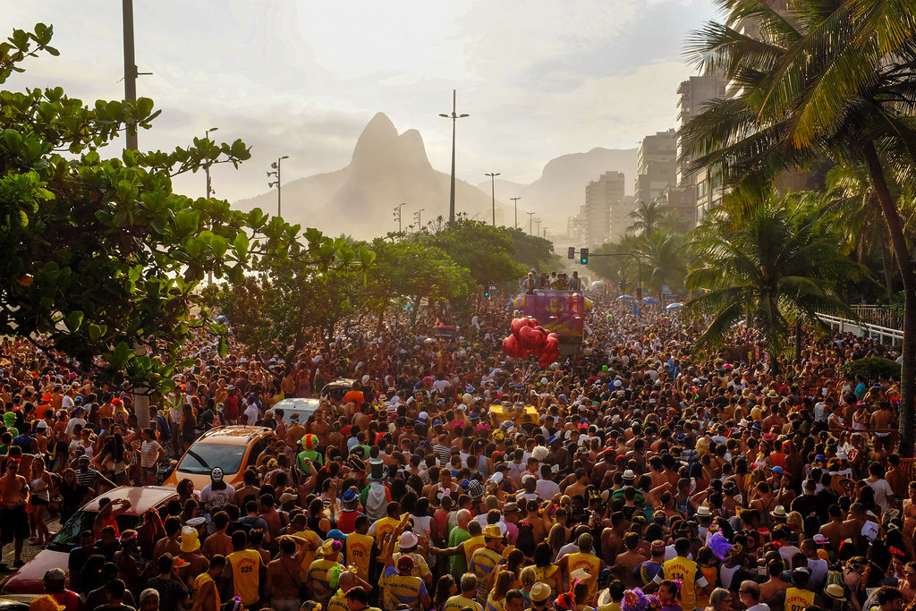 Carnival in Ipanema