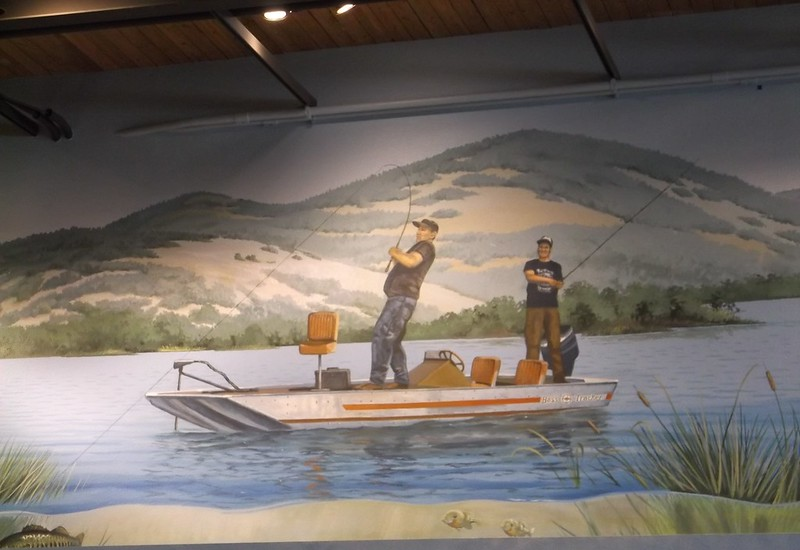 Folsom Lake mural