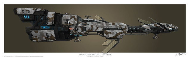 Vagabond Special Edition Art Print Poster
