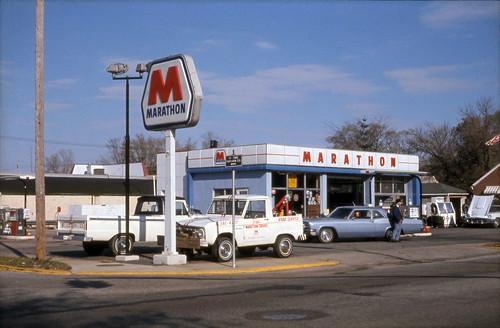 1972 or so - Marathon Station