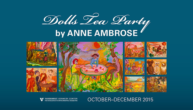 Anne Ambrose - Dolls Tea Party [Art Exhibit 2015]
