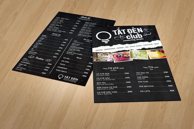 menu Tắt đèn