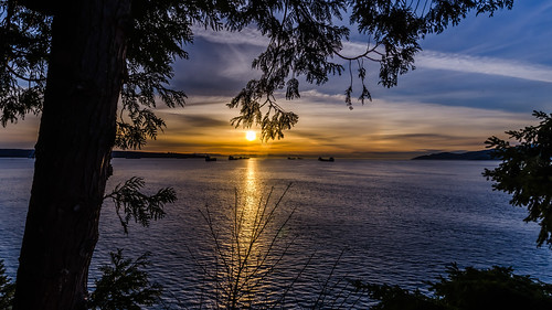 ocean longexposure sunset tourism vancouver clouds outdoors nikon colorful harbour pacificnorthwest englishbay stanleypark dslr hdr d7000
