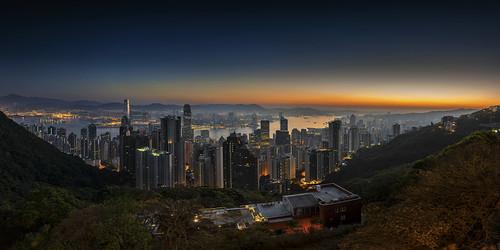 china city travel sunrise fun hongkong reisen nikon cityscape bluehour planetearth nikond800