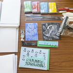 Printmaking workshop for children   © Robin Mair