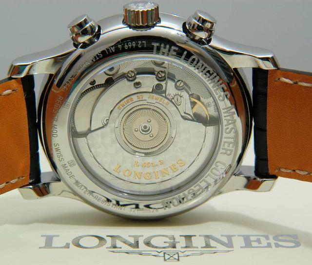 Longines Master Chronograph Movement