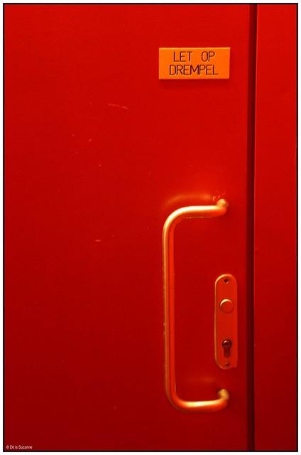Red minimalistic experiment 1/12
