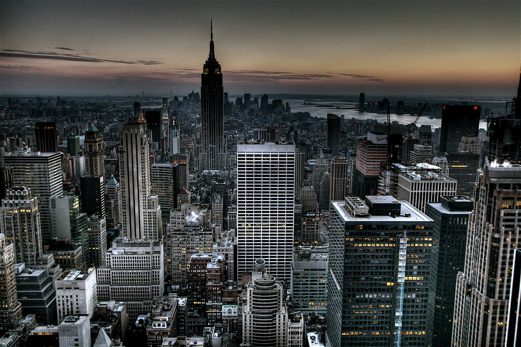 Gotham City Background New York City Skyline Wallpaper Hd