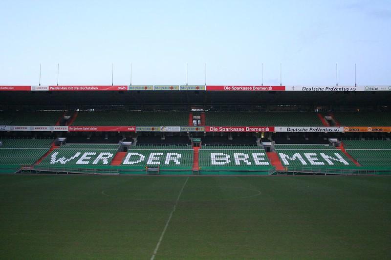 Weserstadion Tribüne