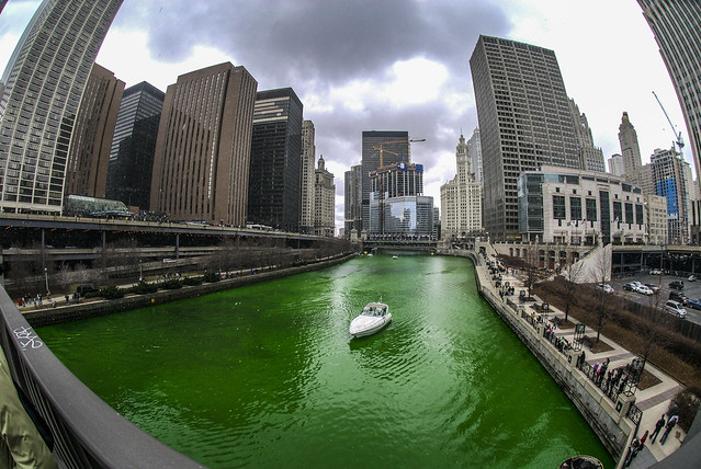 The Greening of the Chicago River 2007 Edition
