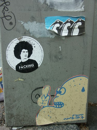 Street art, Amsterdam 2005 | by halvorbodin