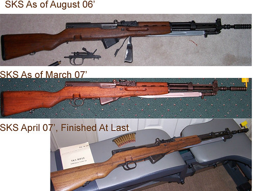 Before and After Images of my SKS