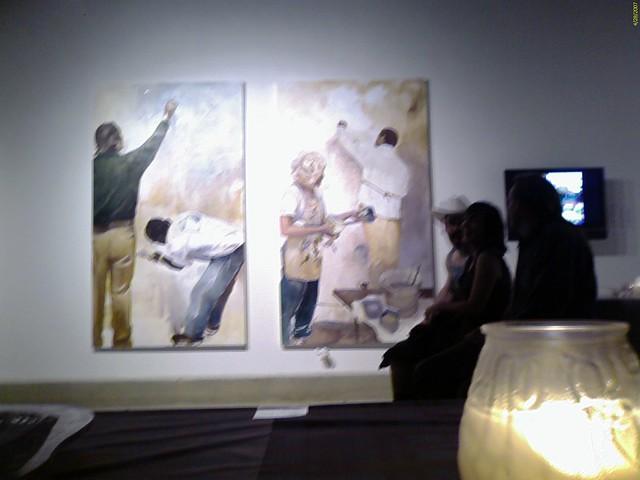 MCAD MFA exhibit, Sue Gallery, Minneapolis, Minnesota, USA
