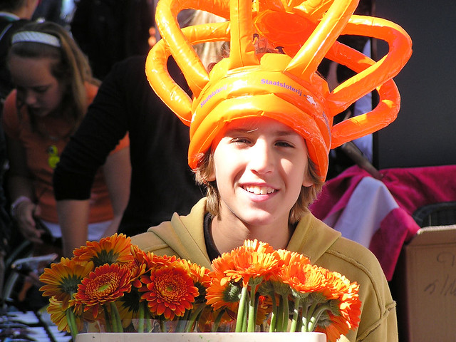 Young flower man!