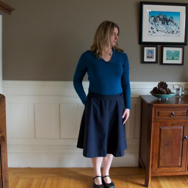 Hollyburn skirt with maryjanes