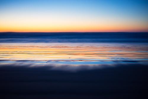 longexposure sunset abstract beach water landscape sand waves dof tide pacificocean longbeach pacificnorthwest westcoast pnw ilwaco shallowdof capedisappointment capedisappointmentstatepark a7r bensonbeach