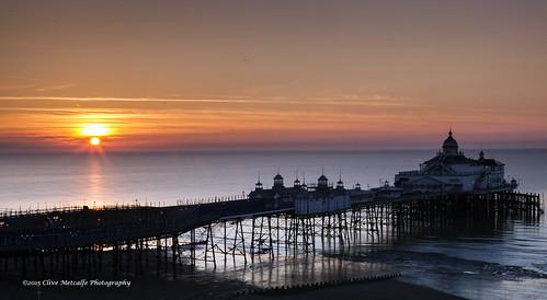 ocean uk sky beach sunrise dawn sussex pier seaside spring sand waves westsussex eastbourne pleasurepier