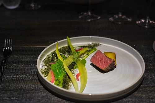 Wagyu: Potato, onion, lettuces | by Fran Azafrán