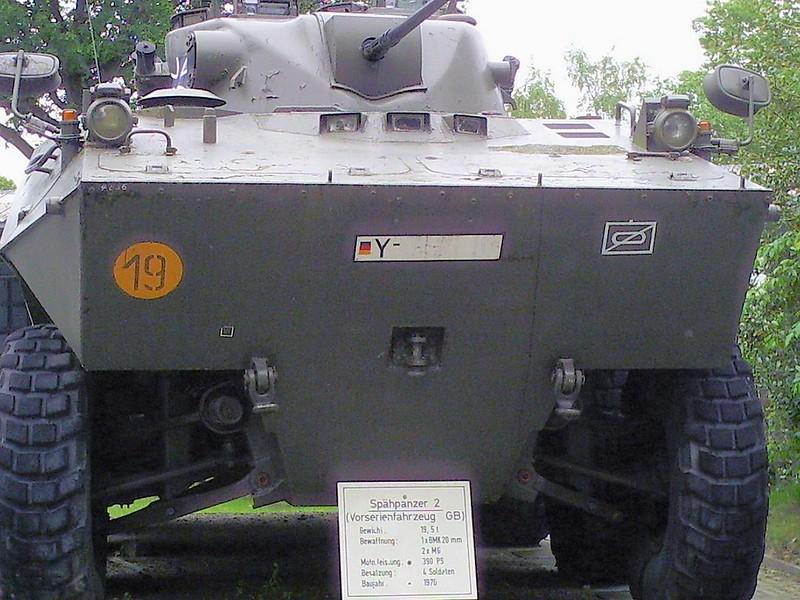 Spahpanzer 2 Prototype 2