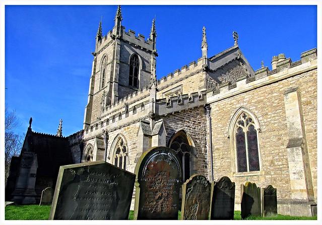 St Bartholomews church, Appleby, North Lincolnshire.