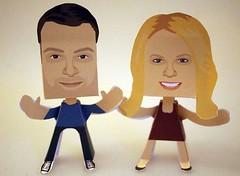 Melissa & Joey Paper People Free Paper Toys Download