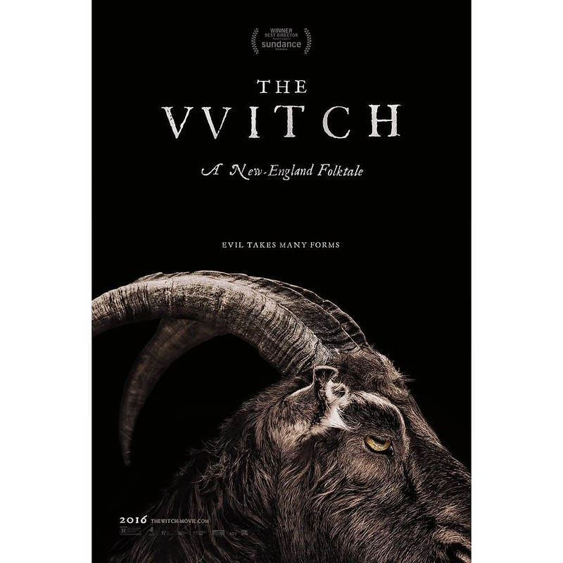 FINALLY got to see The VVitch tonight with @smashh_ley and OMG is this movie creepy af! Definitely loved yet was disturbed as hell by this movie. I shant be venturing into the woods anytime soon, nor shall I be chillin' with any goats anytime soon 🐐