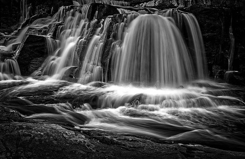 water canon landscape us blackwhite unitedstates connecticut waterfalls serene almostspring southbury 5diii